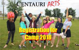 Registration for summer camps 2018!