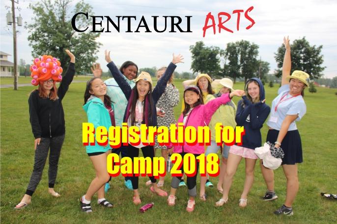 Registration for summer camps 2018!