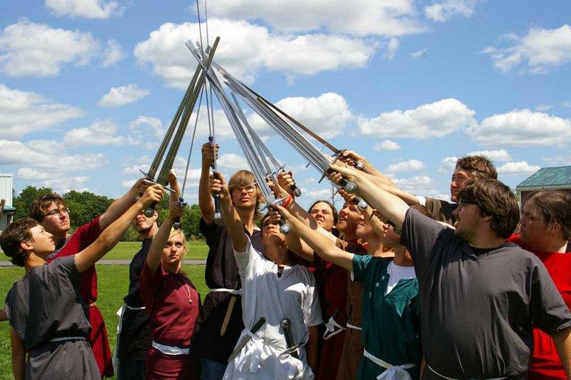 Stage Combat - Vikings!