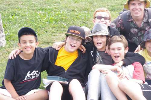 Younger Boy Campers